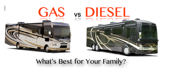 Gas vs Diesel – Which is a better fit for your full time rv lifestyle – Guest Post