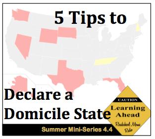 Full-Time RVing Family Top Tips for Choosing a Domicile Residency State