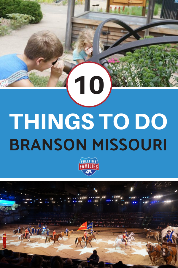 Read our top 10 things to do in Branson Missouri. If you are planning a vacation with kids to Missouri, then check out these attractions. #familytravel #familyvacation #branson #vacation