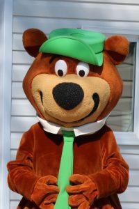 Yogi Bear visiting the Rally