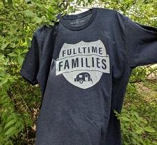 Fulltime Families Logo Tshirt-small
