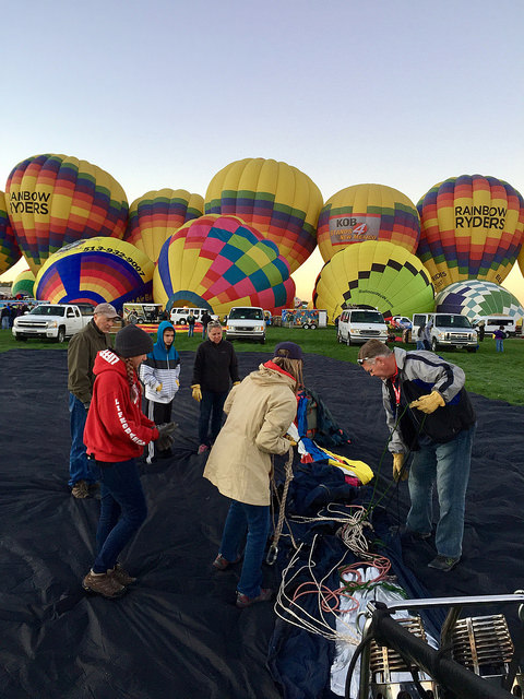 Fulltime Families at the Albuquerque Balloon Fiesta 5