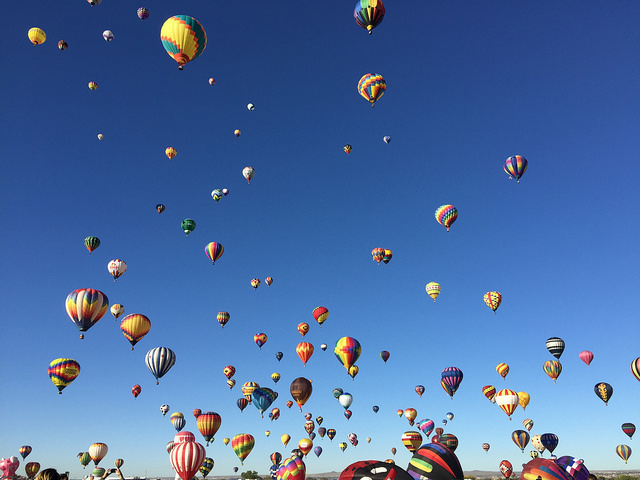 Fulltime Families at the Albuquerque Balloon Fiesta 7