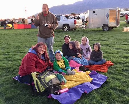 Fulltime Families at the Albuquerque Balloon Fiesta 3