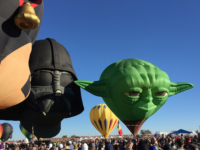 Fulltime Families at the Albuquerque Balloon Fiesta 1