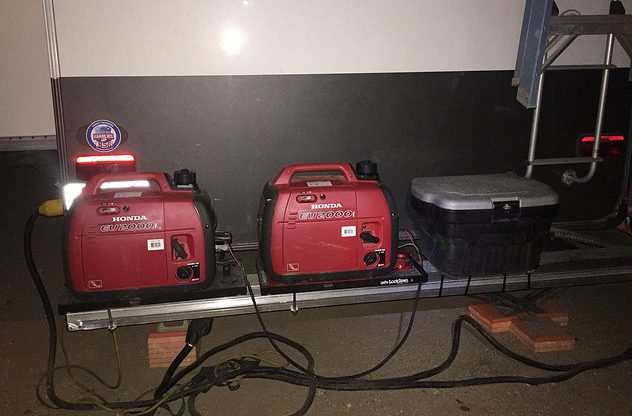 Generators ready for boondocking