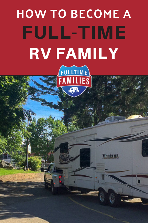 How to become a full-time RV family