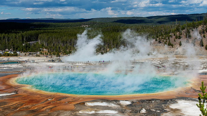 Yellowstone National Park With Family