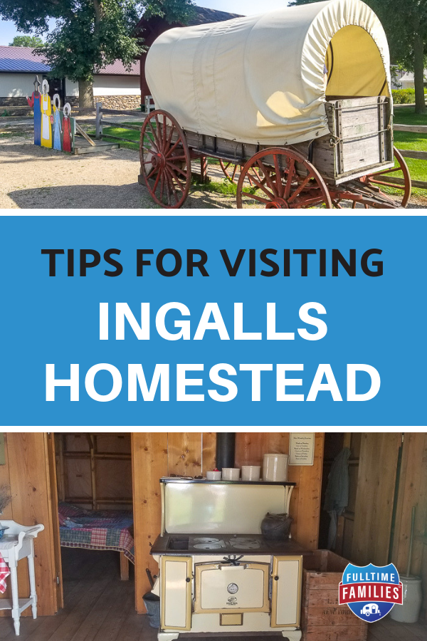 Ingalls Homestead Homeschool Trip