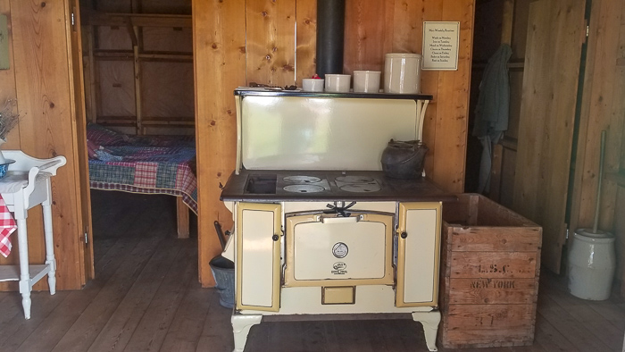 Inside The Ingalls Homestead