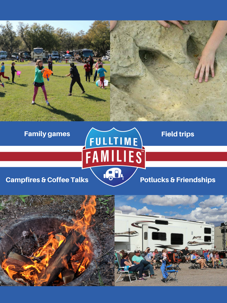 Family games, field trips, campfires and coffee talk and potlucks