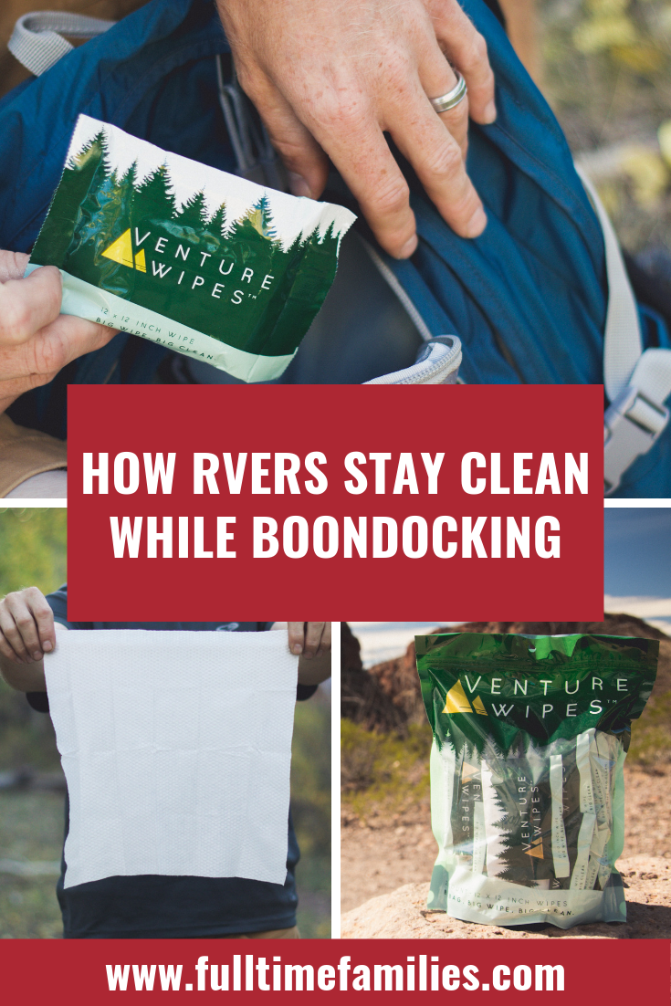 Venture Wipes for Boondocking