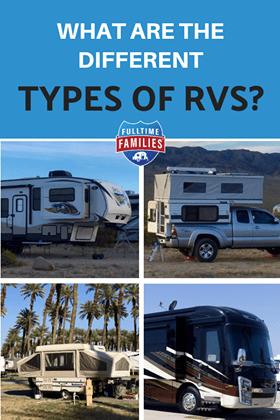 Types of RVs