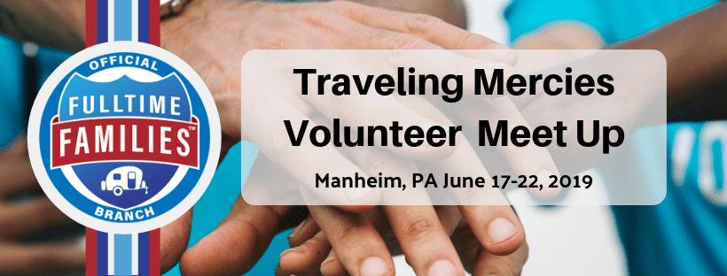 2019 Fulltime Families GAiN Volunteer Meetup host by Traveling Mercies 1