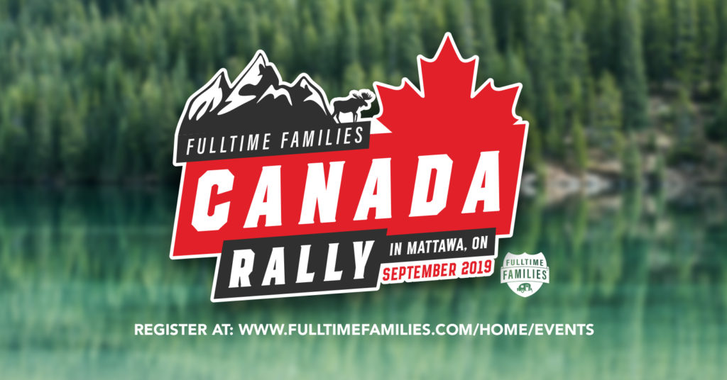 2019 Fulltime Families Canada Rally 1
