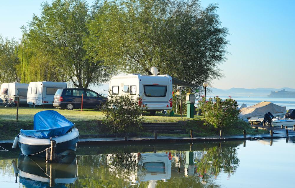 Stationary RV Camping