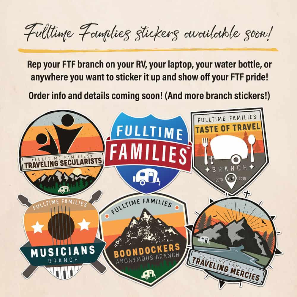 Fulltime Families Branch Sticker