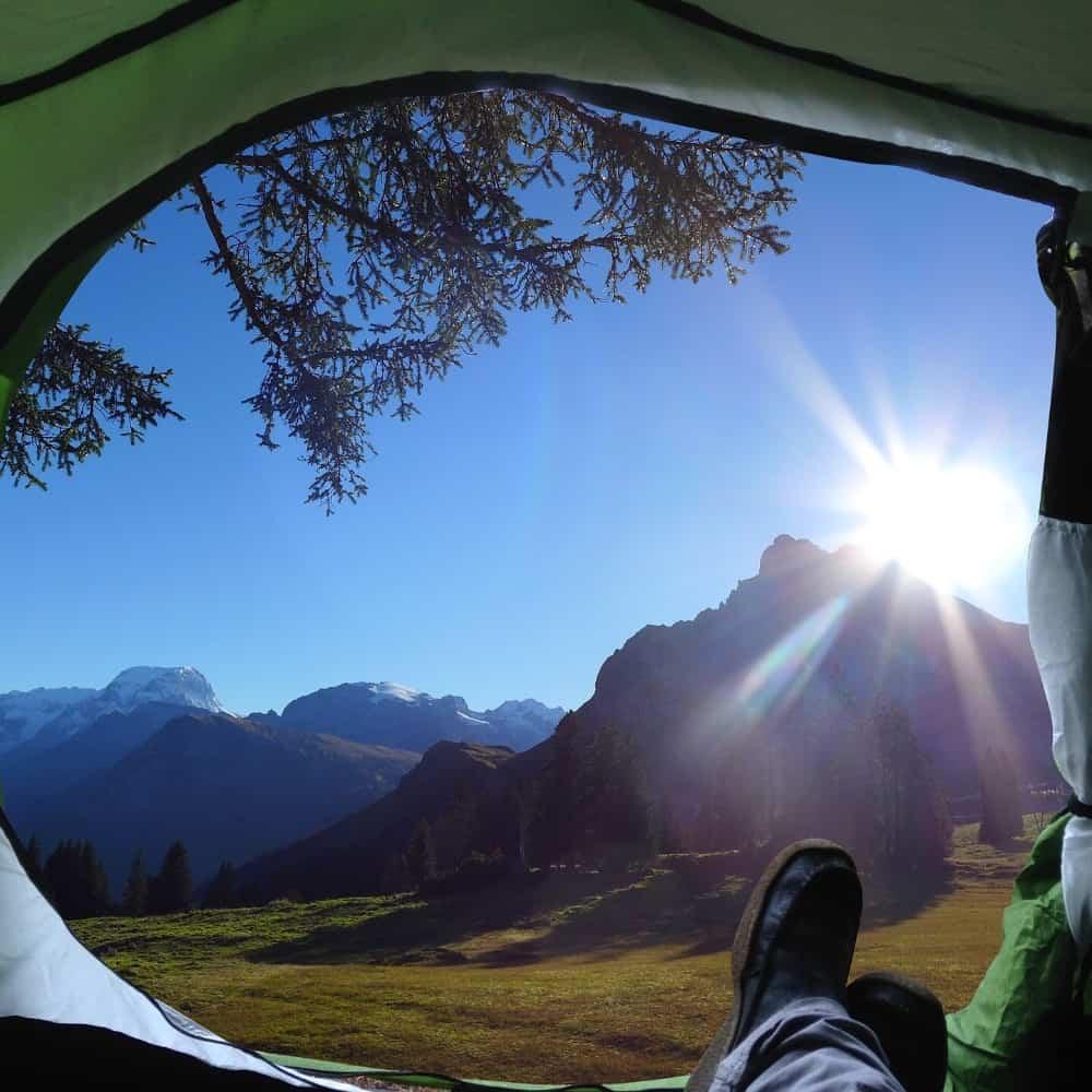 RV outdoor private spot