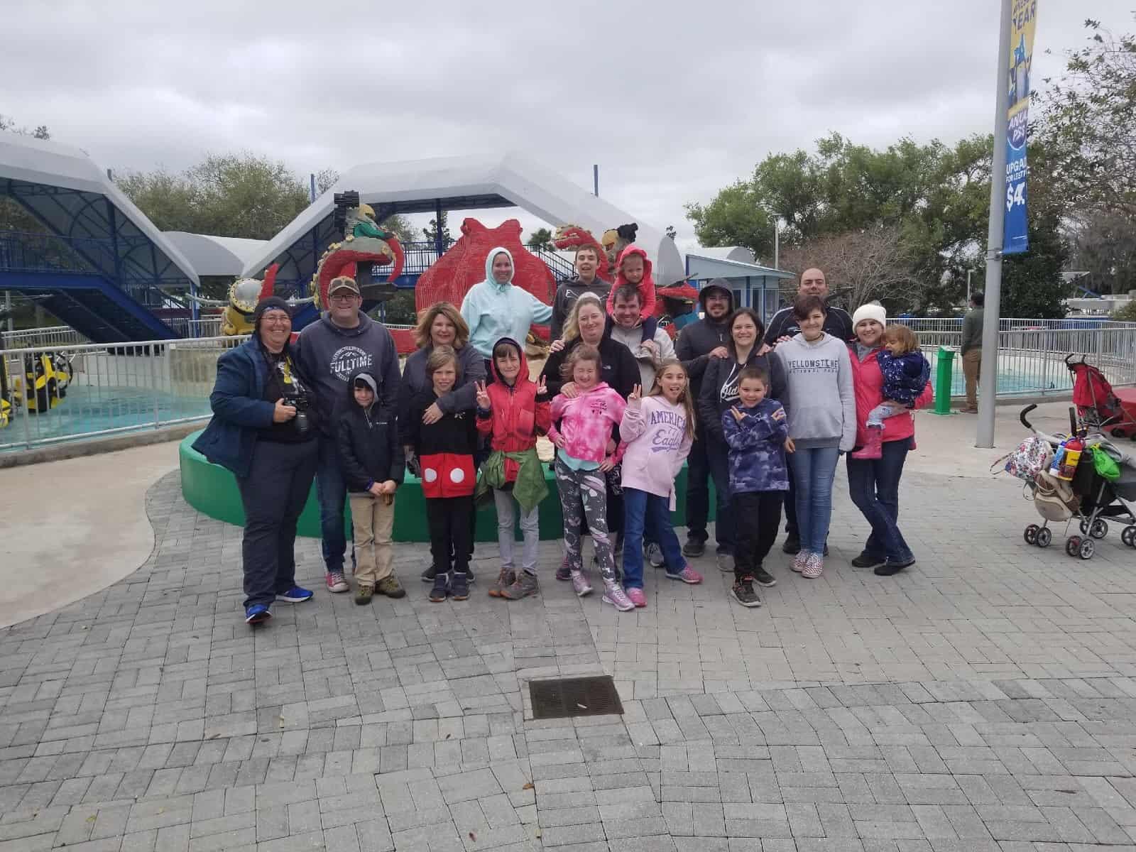 Fulltime Families Storms Legoland, FL 2020